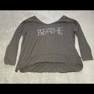 Lole Breathe super cute loose fitting wicking top size large. Excellent cond.